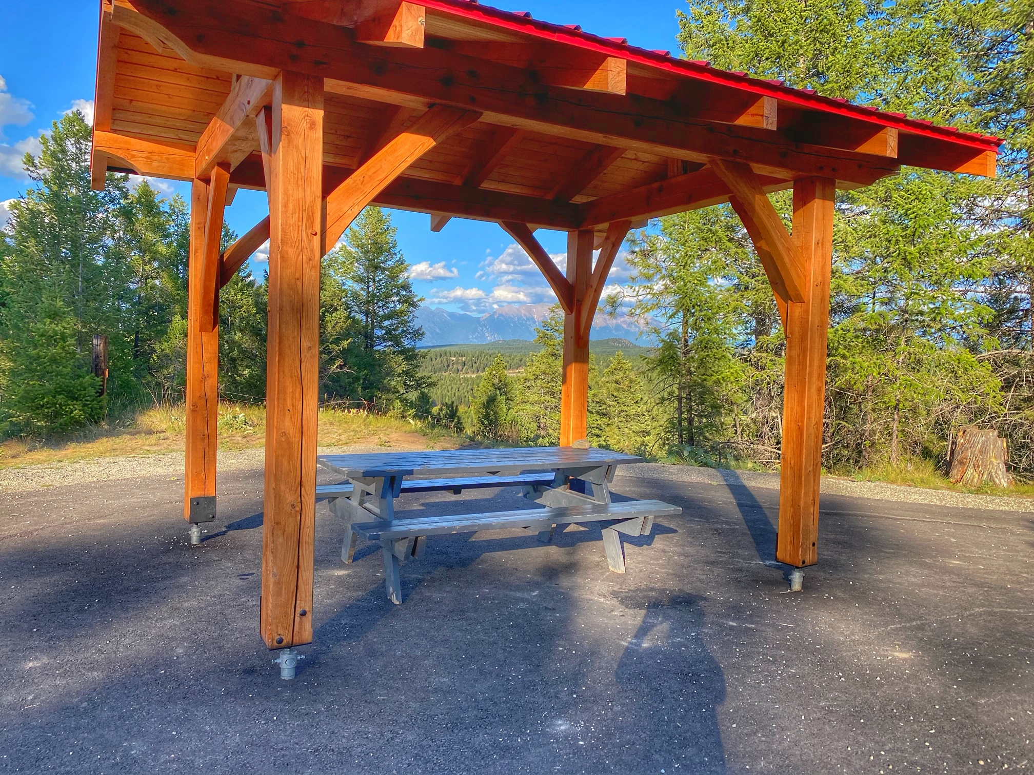 Rails to Trails Picnic Table