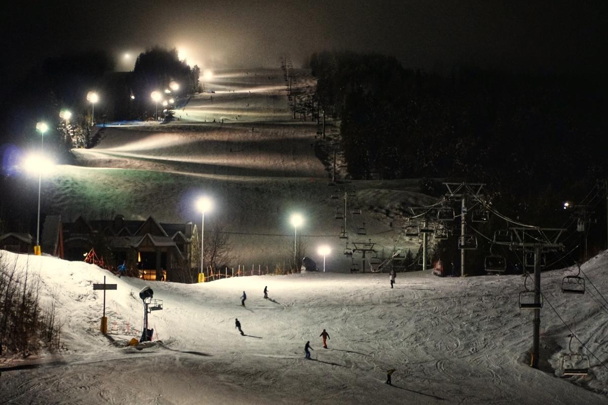 Night Skiing in Kimberley
