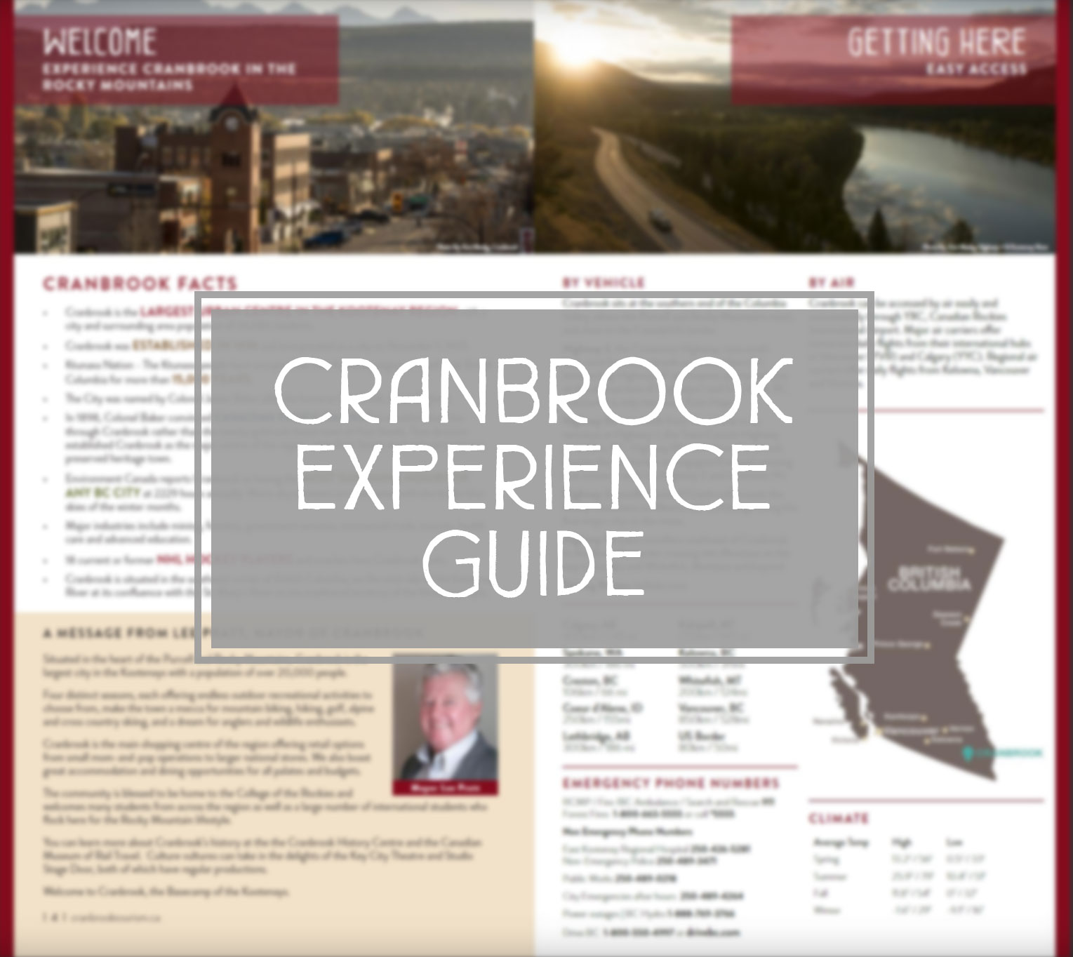 Things to do in Cranbrook BC
