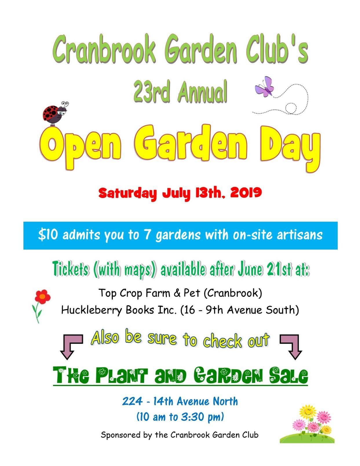 gardening event cranbrook bc