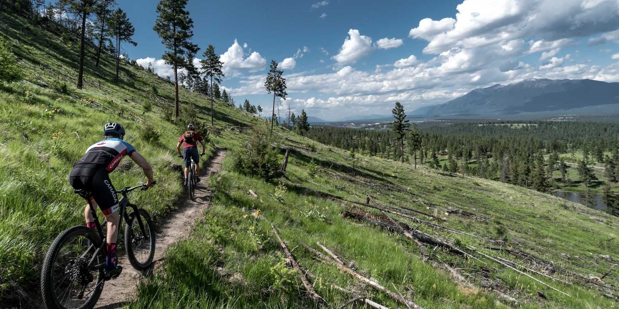 Mountain bikers are naturally drawn to Cranbrook.