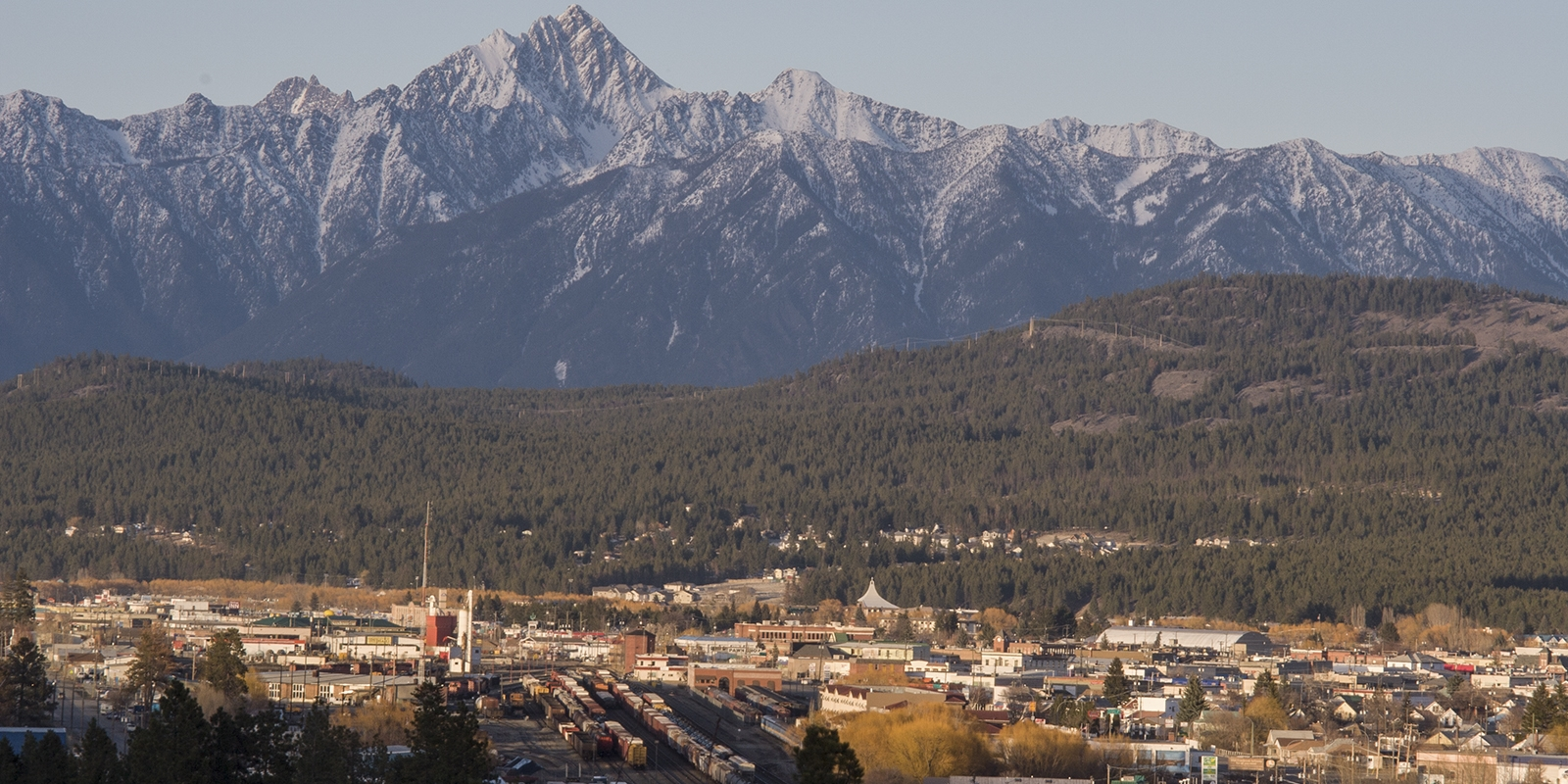Fisher Peak and Cranbrook